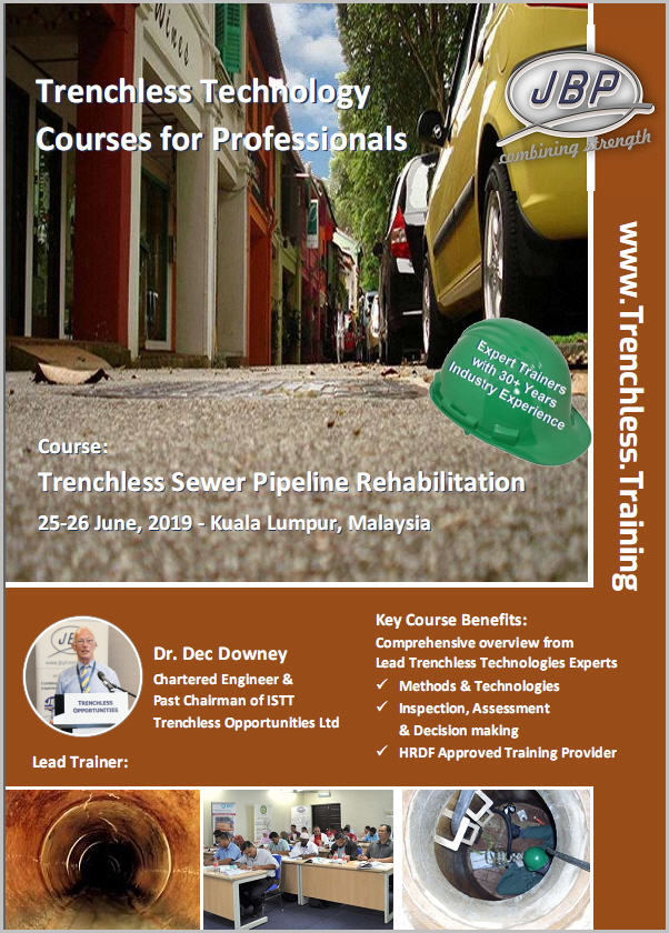 JBP Trenchless Training Course 4